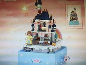 Mini Castle Music Box   531pcs,105x185mm, Building Blocks with original box