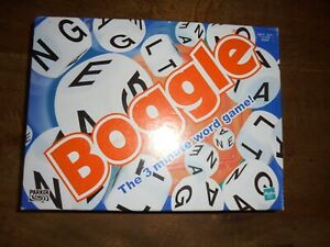 Boggle - The Educational Three Minute Word Game. Hasbro / Parker Complete