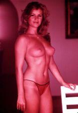 DENISE PERRY/GINGER STEELE Vintage Latent Image 35mm NUDE Slide BG