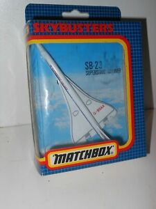 Vintage Matchbox Skybusters  SB 23 SUPERSONIC AIRLINER Plane Aircraft series1:64