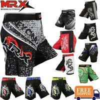 MMA Shorts Grappling UFC Boxing Muay Thai Mens Cage Fight Trunks Kick Men MRX
