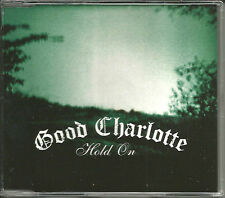 GOOD CHARLOTTE Hold On w/ 2 RARE SESSION trx & VIDEO UK CD single SEALED 2004