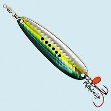 Luhr-Jensen Holographic Krocodile 1/4 oz Sardine Fishing Red SureSet Spoon Lure