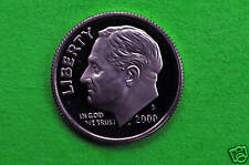2000-S  Deep Cameo  Roosevelt Silver  Dime  US GEM  Proof Coin (90 % Silver)