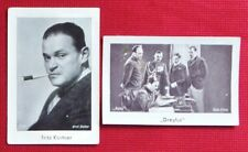 Fritz Kortner 1932 Josetti Film Star Cigarette Cards Lot 2