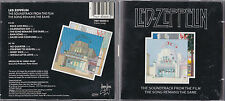 2 CD 9T LED ZEPPELIN THE SOUNDTRACK FROM THE FILM THE SONG REMAINS THE SAME 1993