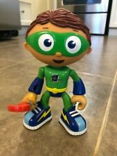 """Super Why Wyatt Action Figure Learning Curve PBS Kids 6"""" Toy"""