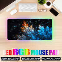 Mouse Pad Gaming Mouse Pad Large Mouse Pad Gamer RGB Mouse Mat Computer Mousepad