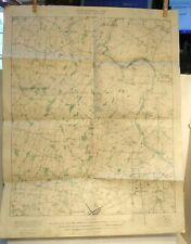 "VINTAGE 20""x26"" TOPOGRAPHIC MAP GETTYSBURG ANTIETAM PA US GEOLOGICAL SURVEY 1925"