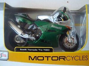 Moto Miniature Benelli Tornado Tre 1130 1/12° New IN Box Maisto