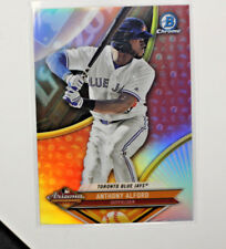2017 TOPPS BASEBALL BOWMAN SCOUTS TOP 100 CHROME ANTHONY ALFORD BLUE JAYS C7