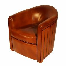 FAUTEUIL CLUB OLD NAVY CUIR