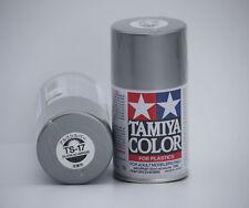 Tamiya Peinture Bombe TS17 Gloss Aluminium