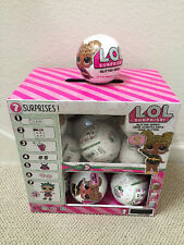 NEW! (18) L.O.L LOL SURPRISE GLITTER Series 3 Dolls w/ DISPLAY Full case! HTF