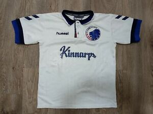 FC KOBENHAVN (COPENHAGEN) 1997-98 HOME SHIRT HUMMEL JERSEY SIZE 10/12 BOYS