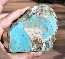 TURQUOISE UNTREATED Lapidary Rough - 555g old collection (a16)