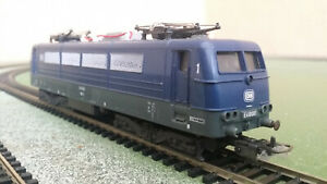Lima HO gauge 3-Rail DB Electric Loco E410001 in blue livery - pantographs