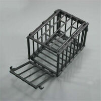 1/6 Scale Scene Plastic Black Animal Cage Model For 12'' Action Figure Diagram