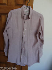 Sears Roebuck and Co. Athletic Cut L/S b/down casual shirt size 16 1/2 32/33