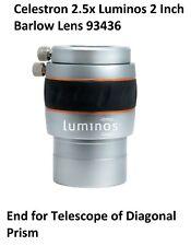 Celestron 2.5x Luminos 2 Inch Barlow Lens 93436 (UK Stock)