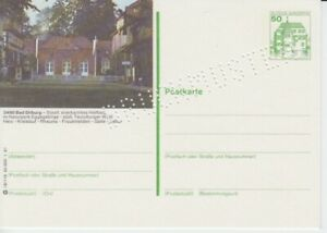 P 134  Bildpostkarte  Druckmuster  Bad Driburg    **