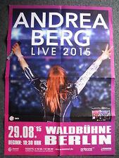Konzertposter-Andrea Berg Live 2015-Berlin 29.08.2015-Konzertplakat-Poster