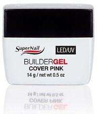SuperNail LED/UV Builder Gel Cover Pink - .5oz (51616)