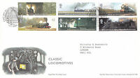 13 JANUARY 2004 CLASSIC LOCOMOTIVES ROYAL MAIL FIRST DAY COVER YORK SHS
