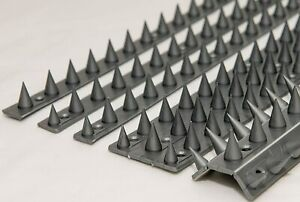 Anti Climb Spikes Fence Wall Security Spikes Bird Cat Repellent Prickle Strip