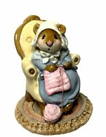 "Wee Forest Folk: ""Pearl Knit Mouse"" (1981-1985), M-59"