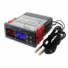 Temperature Controller Dual Digital Thermostat 2 Sensor Heating Cooling Switch