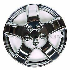 """Chrome 15"""" Hub Caps Full Wheel Rim Covers w/Steel Clips (Set of 4) - KT-998-15"""
