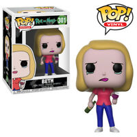 Beth Wine Rick and Morty Funko Pop Official Funko Vinyl Figure Collectables