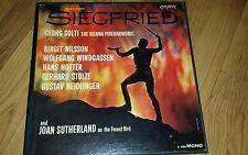 WAGNER Siegfried vinyl 5x LP BOX Georg Solti Vienna Philharmonic MONO 1960