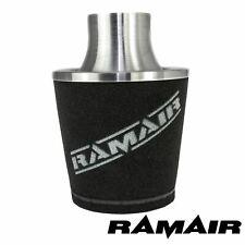 Silver Ramair Aluminium Induction Air Filter Universal 80Mm Od Neck New