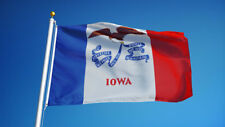 IOWA STATE FLAG new superior quality 3x5ft size fade resist flag us seller