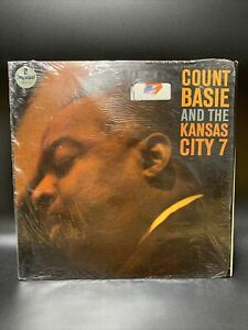 Count Basie And The Kansas City 7 LP [Impulse! A-15] ORIG 1962 JAZZ Van Gelder