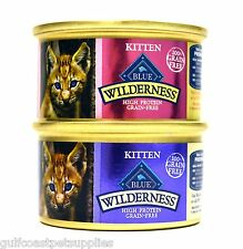 Blue Buffalo Wilderness Grain-Free Variety Pack Wet Kitten Food - 2 Flavors