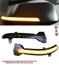 BMW 6 SERIES F13 LCI LED SMOKED DYNAMIC SEQUENTIAL SIDE MIRROR TURN SIGNAL LIGHT