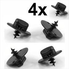 4x VW Floor Mat Fastener Carpet Screw clips plastic screws turn lock oval hole