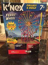 K'Nex Ferris Wheel Collect & Build Set 12436 Motorized 475 Pcs New Never Opened