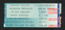 1988 10,000 Maniacs Natalie Merchant Tracy Chapman Concert Ticket Stub New York