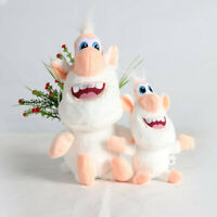 "10"" Anime Booba Buba Cartoon White Pig Plush Toy Soft Stuffed Doll Kids Gift"