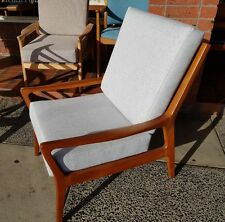 Retro Fler Parker Danish Deluxe Arm Chair Recovered