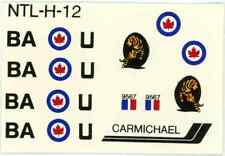 1:72 MODEL DECAL SHEET RCAF ROYAL CANADIAN AIR FORCE P-51 MUSTANG 442 SQUADRON