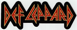 DEF LEPPARD - LOGO - IRON or SEW-ON PATCH
