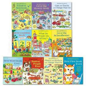Richard Scarry Collection 10 Books set Best First Book Ever NEW