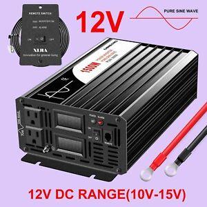1500W pure sine wave inverter DC12V to AC 120V
