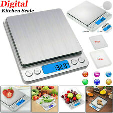 Kitchen Weighing Scales Digital Electronic Pocket LCD Cooking Food 3000g / 0.1g.