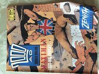 a3 comic 2000 ad judge dredd prog 588 january 23rd 1988
